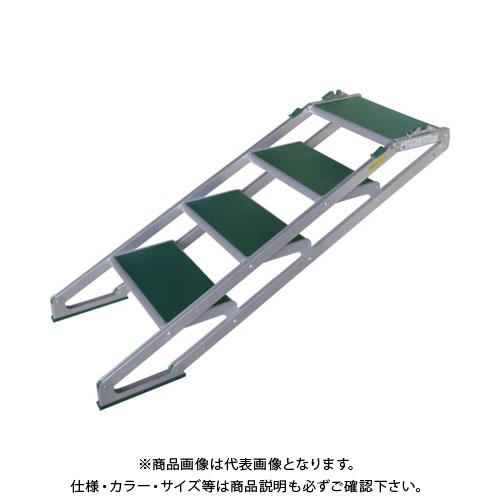 【運賃見積り】【直送品】 MT MTステップS型4段 S504