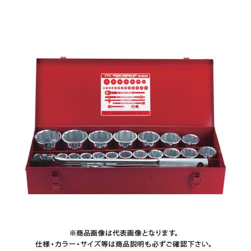 【運賃見積り】【直送品】 FPC ソケットレンチセット 差込角19.0mm 26pc S-6120