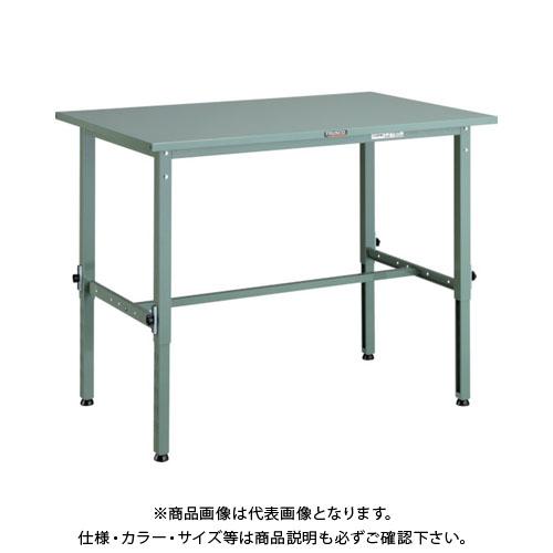 【直送品】 TRUSCO SAEM型高さ調整作業台 1200X600 SAEM-1260