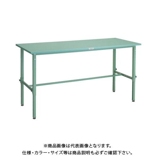 【直送品】 TRUSCO SAEM型高さ調節作業台 1500X750 SAEM-1500