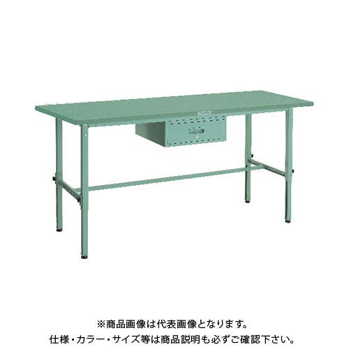 【直送品】 TRUSCO SAEM型高さ調節作業台 1800X900 1段引出付 SAEM-1809F1