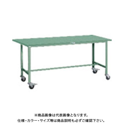 【直送品】 TRUSCO SAE型作業台 1800X750 Φ100キャスター付 SAE-1800C100