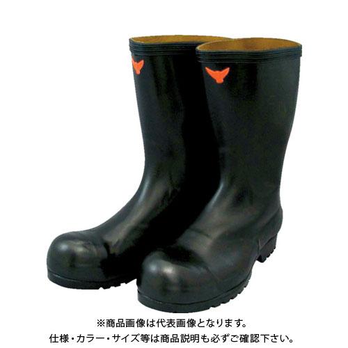 SHIBATA 安全耐油長靴(黒) SB021-26.5