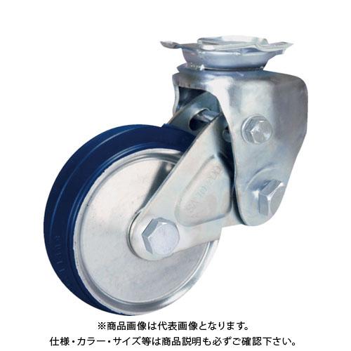 シシク 緩衝キャスター 固定 200径 スーパーソリッド車輪 SAK-TO-200SST