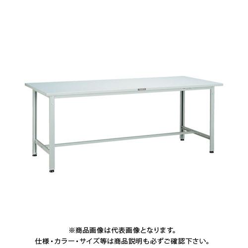 【直送品】 TRUSCO SAE型作業台 900X600XH740 W色 SAE-0960 W