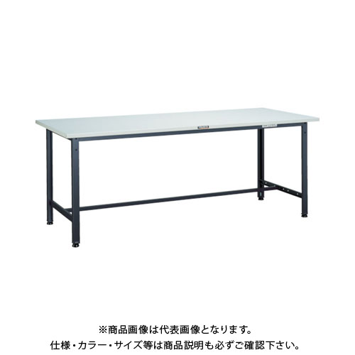 【直送品】 TRUSCO SAE型作業台 1500X750XH740 DG色 SAE-1500 DG