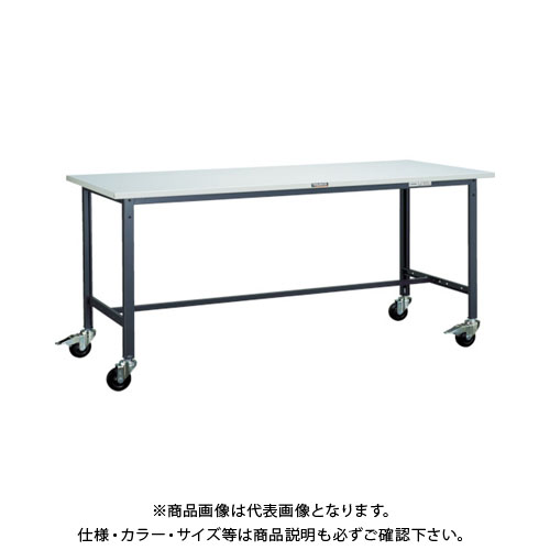 【直送品】 TRUSCO SAE型作業台 1800X7450XH740 100Φキャスター付 SAE-1800C100 DG