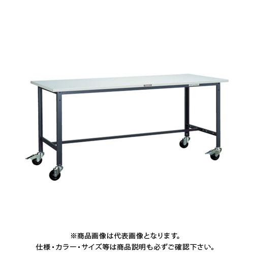 【直送品】 TRUSCO SAE型作業台 1800X900XH740 100Φキャスター付 SAE-1809C100 W