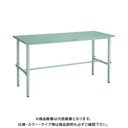 【直送品】 TRUSCO SAEM型高さ調整作業台 1500X750 W色 SAEM-1500 W