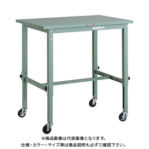 【直送品】 TRUSCO SAEM型高さ調節作業台 900X600 φ75キャスター付 SAEM-0960C75