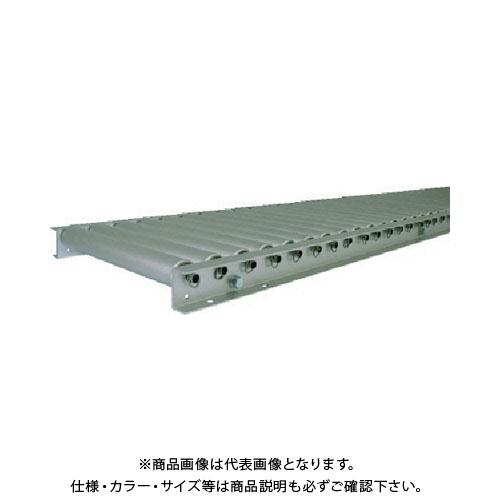 【運賃見積り】【直送品】 TS アルミローラコンベヤ 径38.1×幅400 ピッチ50 機長2000 SA38-400520