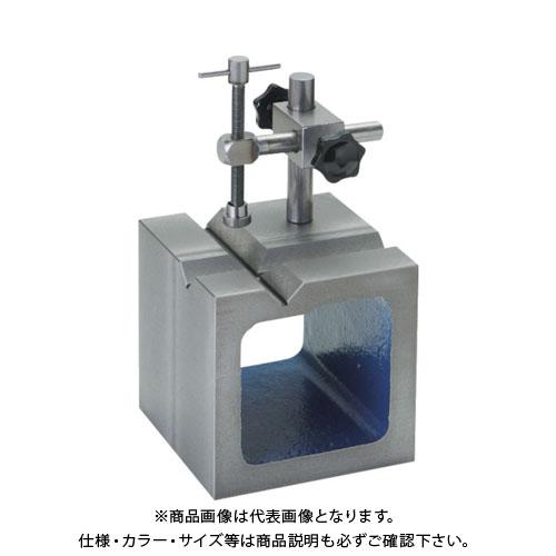 SK 鋳鉄製V溝付桝型ブロック 100mm SBV-100T