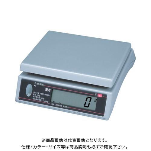 【直送品】イシダ 上皿型重量ハカリ S-BOX-3