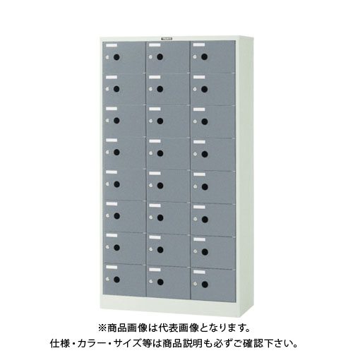 【個別送料2000円】【直送品】 TRUSCO シューズケース 24人用 900X380XH1700 SC-24P