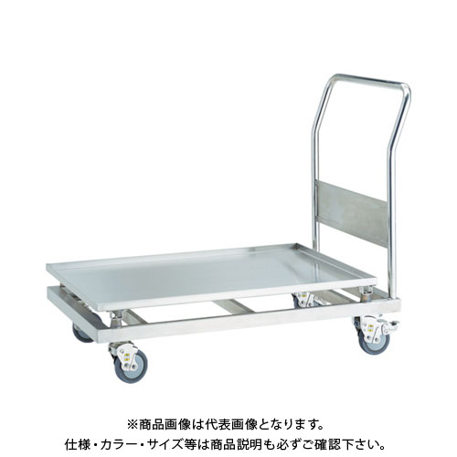 【直送品】TRUSCO SUS304 防振台車 900X600 SBSD-9060
