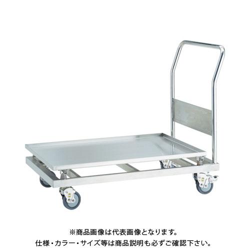 【直送品】TRUSCO SUS304 防振台車 900X600 パンチング SBSD-P9060