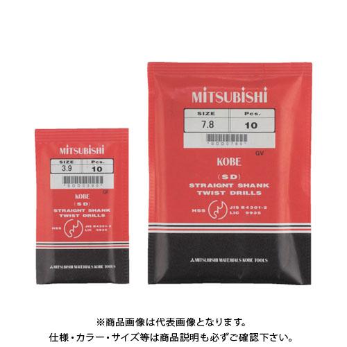 三菱K ストレートドリル11.8mm 5本 SDD1180