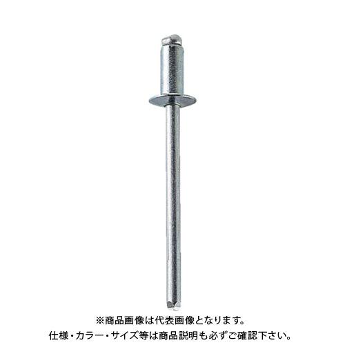 POP オープンリベット(オール鉄)φ4.8、SD68BS (1000本入) SD68BS