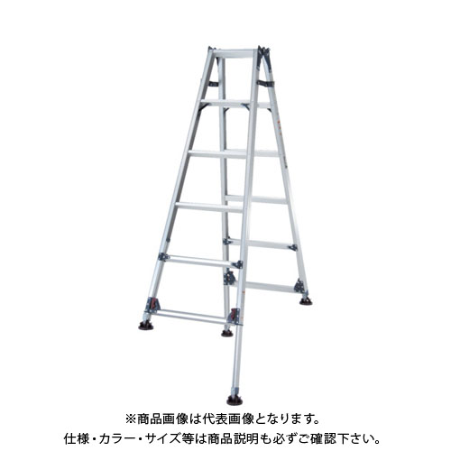 【個別送料1000円】【直送品】ピカ 四脚アジャスト式脚立かるノビSCL型 自在脚タイプ5~6尺 SCL-J180A