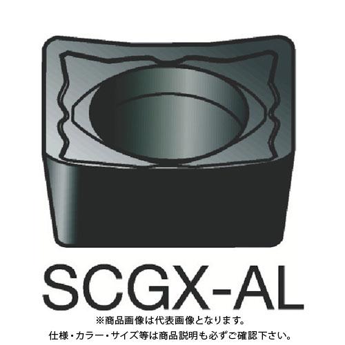 サンドビック コロターン107 旋削用ポジ・チップ H10 10個 SCGX 09 T3 08-AL:H10
