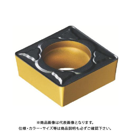 サンドビック コロターン107 旋削用ポジ・チップ 4325 10個 SCMT 09 T3 04-PM:4325