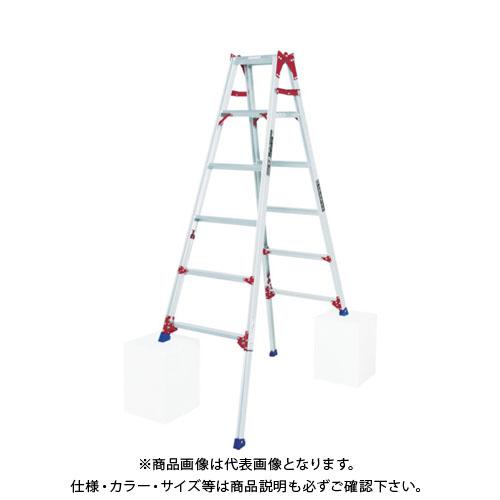 【運賃見積り】【直送品】 ピカ 四脚アジャスト式脚立すぐノビSCP型 SCP-180L