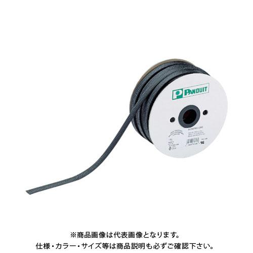 パンドウイット スーパーネットチューブ(ほつれ防止タイプ) 黒 外径31.8mm 15.24m SE125PSC-LR0
