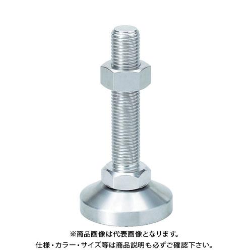 スガツネ工業 重量用ステンレス鋼製アジャスター M42×200 SDY-MS-42-200