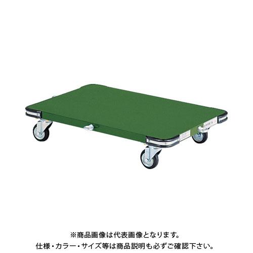 【直送品】TRUSCO 鋼鉄製平台車 800X450 Φ100プレス車 SHT-8045H
