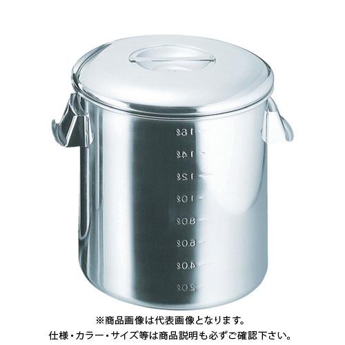 スギコ 18-8目盛付深型キッチンポット 内蓋式 300x300 SH-4630D