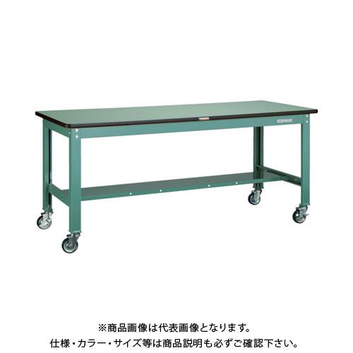 【直送品】 TRUSCO SHW型作業台 1200X750 100φキャスター付 SHW-1200CU100