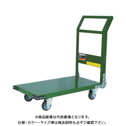 【直送品】TRUSCO 鋼鉄製運搬車 導電性 1200X600 GN SH-2LNE-GN