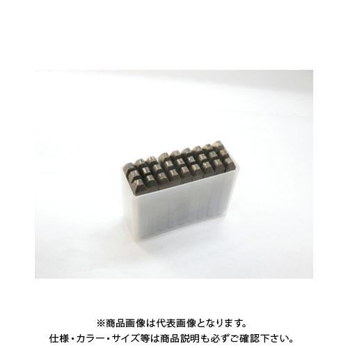TRUSCO 逆英字刻印セット 2.5mm SKC-25