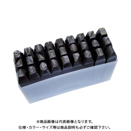 TRUSCO 逆英字刻印セット 13mm SKC-130