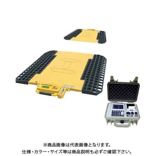 【運賃見積り】【直送品】SHUZUI ロードメーター スーパージャンボMAX 秤量30t 2パッド 静止計量 SJ2-15