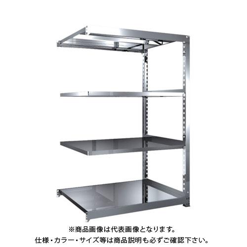 【直送品】 TRUSCO SM3型SUS棚 1200X921XH1800 4段 連結 SM3-6494B