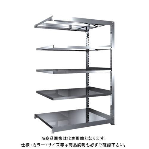 【直送品】 TRUSCO SM3型SUS棚 1200X921XH1800 5段 連結 SM3-6495B