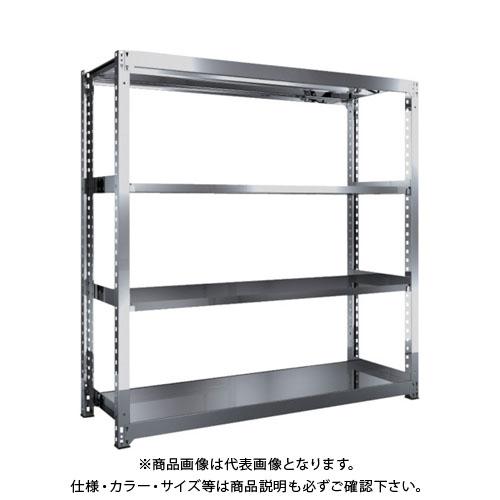 【直送品】 TRUSCO SM3型SUS棚 1800X571XH1800 4段 単体 SM3-6664