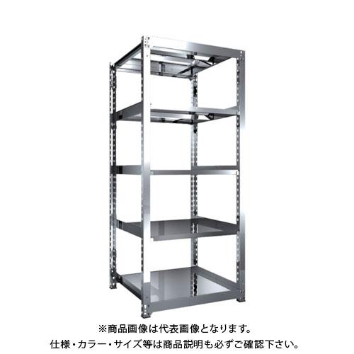 【直送品】 TRUSCO SM3型SUS棚 900X921XH2100 5段 単体 SM3-7395