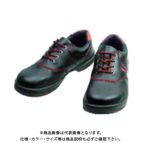 シモン 安全靴 短靴 SL11-R黒/赤 26.0cm SL11R-26.0