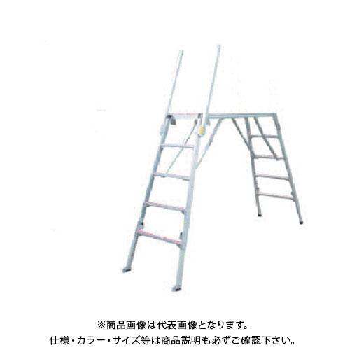 【直送品】ナカオ 可搬式作業台楽駝11号 SKY-11