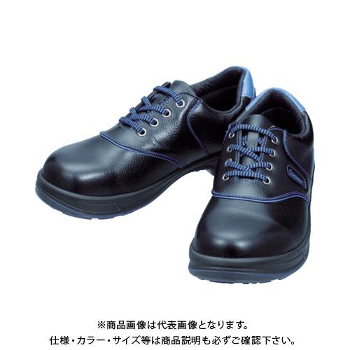 シモン 安全靴 短靴 SL11-BL黒/ブルー 24.0cm SL11BL-24.0