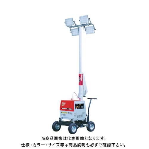【直送品】新ダイワ バッテリーLED投光機110W4灯式 SL420LBG