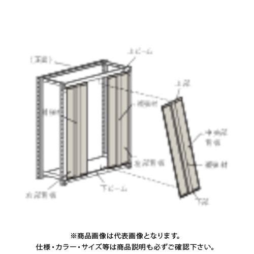 【運賃見積り】【直送品】 TRUSCO M2型棚用はめ込み式背板 W1800XH1800 ネオグレー SM2-66:NG