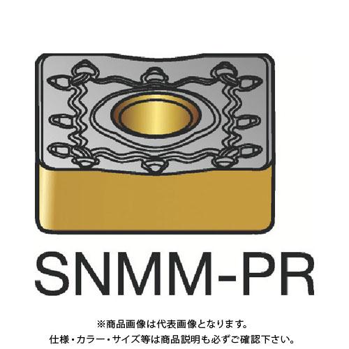 サンドビック T-Max P 旋削用ネガ・チップ 4235 10個 SNMM190616-PR:4235