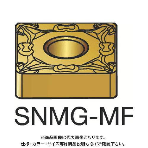 サンドビック T-Max P 旋削用ネガ・チップ 1115 10個 SNMG 12 04 08-MF:1115