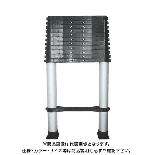 【個別送料1000円】【直送品】KSS ノビテック 伸縮はしご4.1m SN-410
