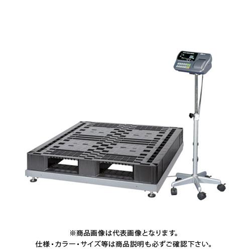 【直送品】A&D 取引証明用(検定付き)低床タイプデジタル台はかり SN1200KL-K