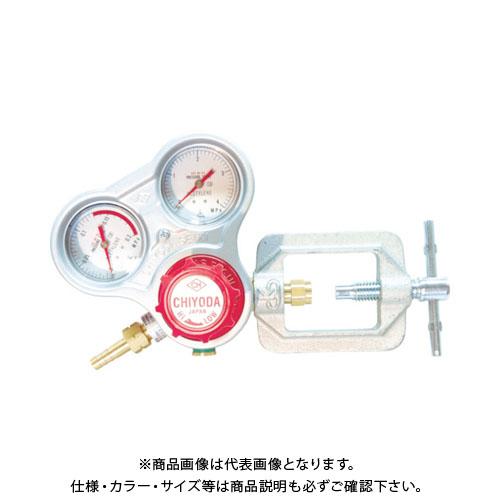 千代田 アセチレン用調整器スタウト乾式安全器内蔵型 SRA-A