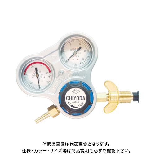 千代田 酸素用調整器スタウト(関西式)乾式安全器内蔵型 SRO-A-W
